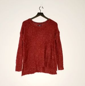 American Eagle Outfitters Burgundy Juniors sweater